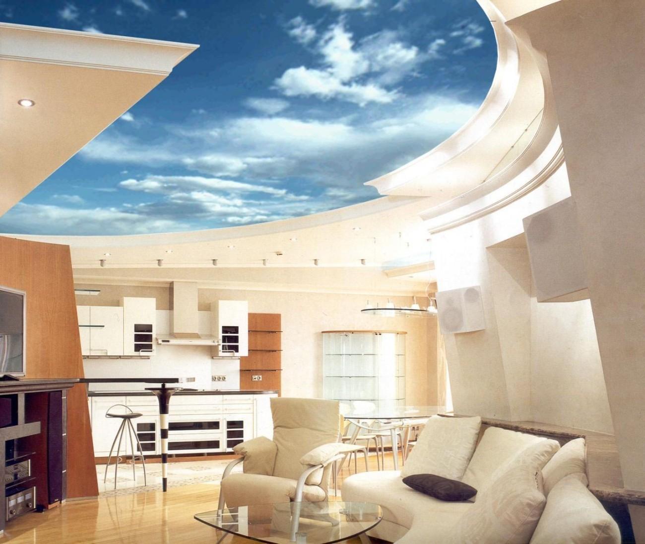 Как сделать красивый потолок