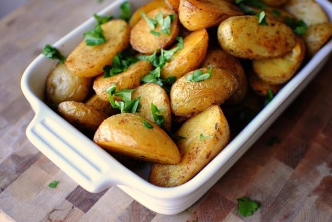 Запеченная картошка в мундире