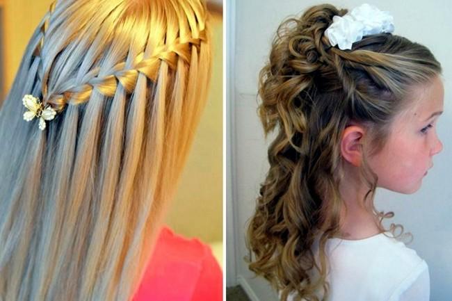 Причёски на выпускной на средние волосы для девочек