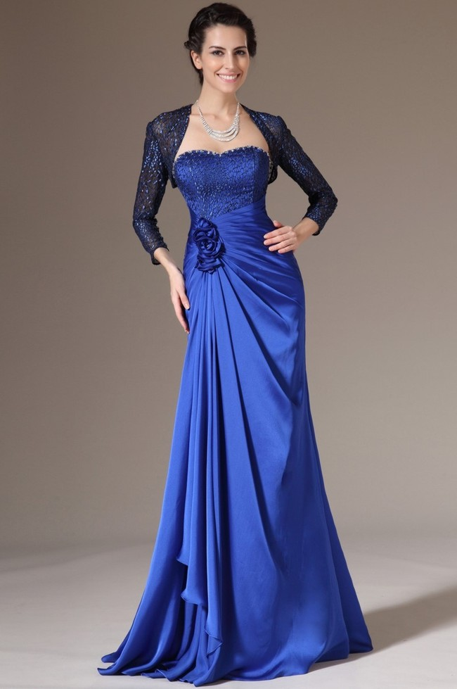 Болеро к синему вечернему платью