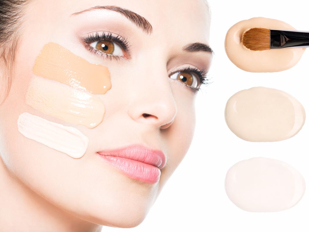 Как сделать чтобы лицо не блестело от тонального крема