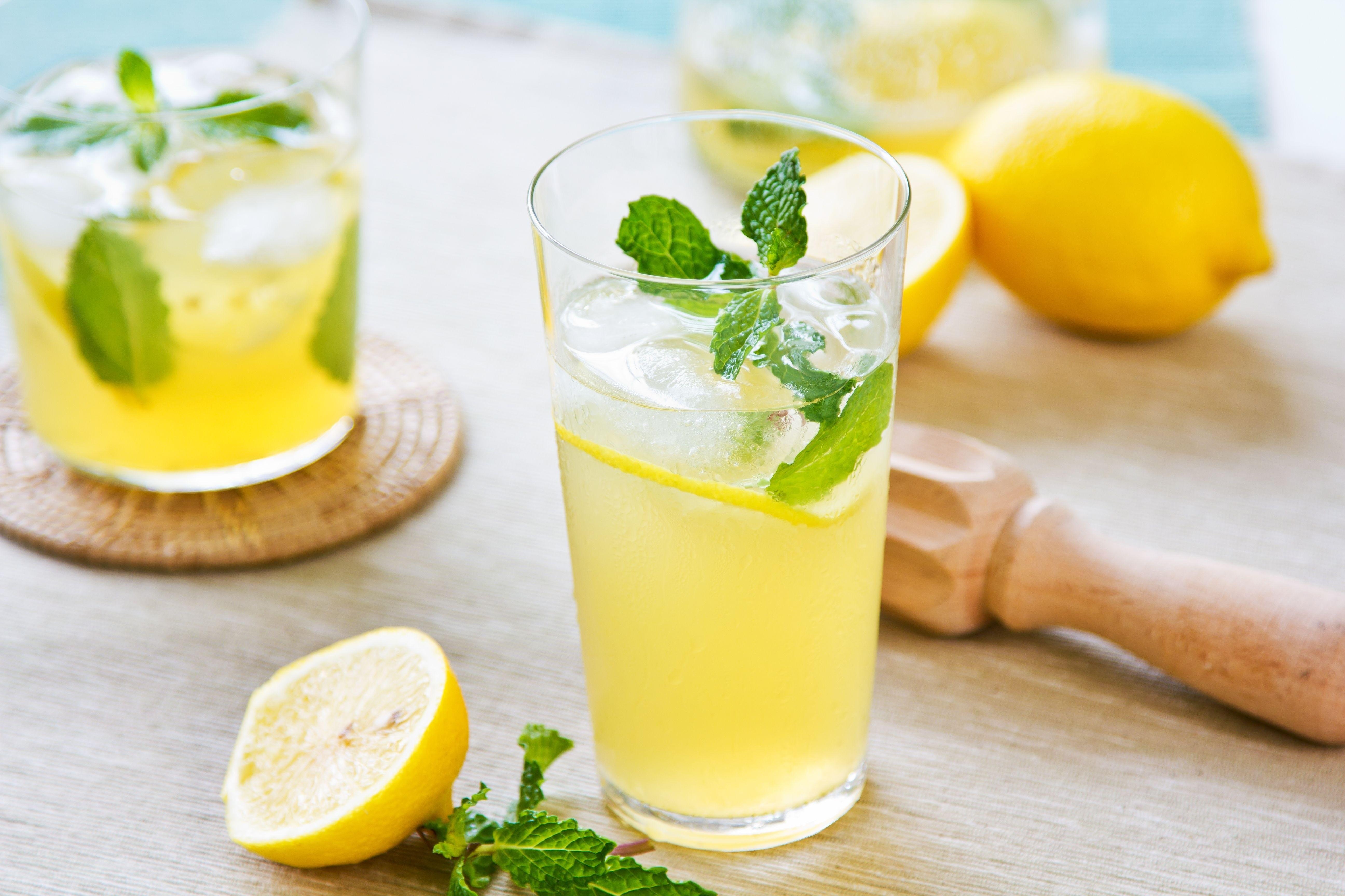 Мята и лимон напиток в домашних условиях 869