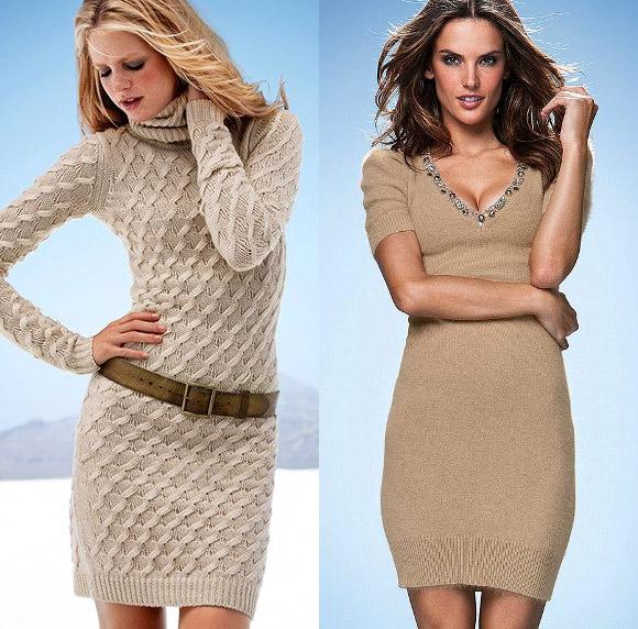 Платье Вязаное Купить