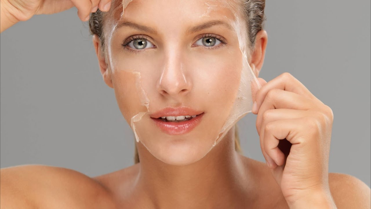 Как сделать очищающую маску пленку