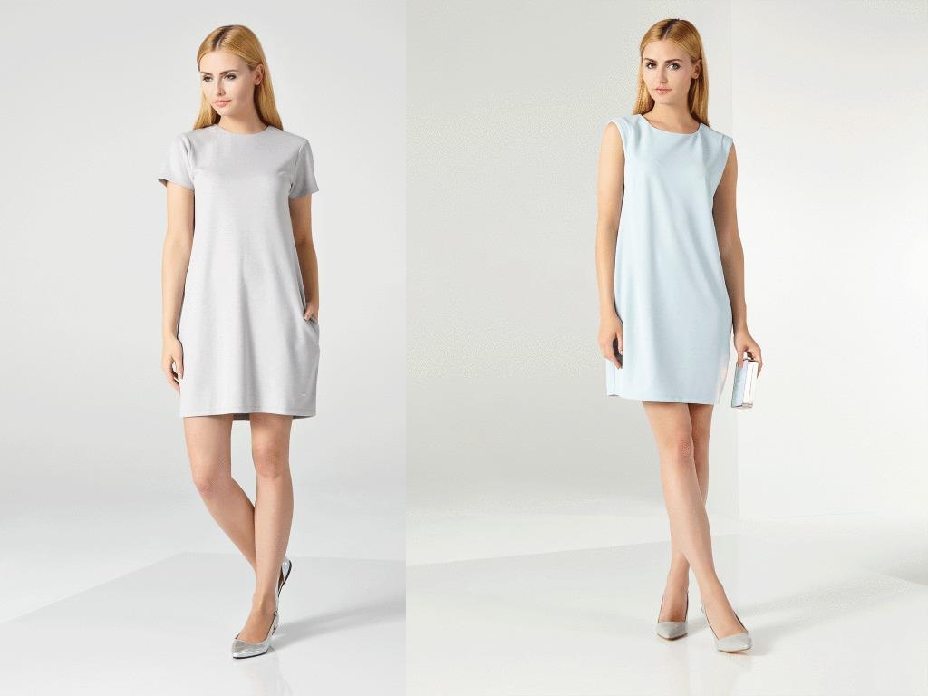 Выкройка модного платья для весны