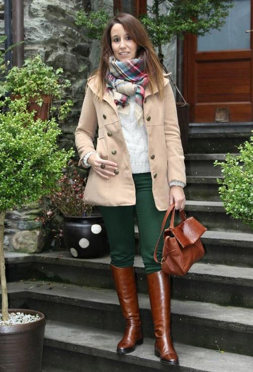 Серо-коричневый с чем носить