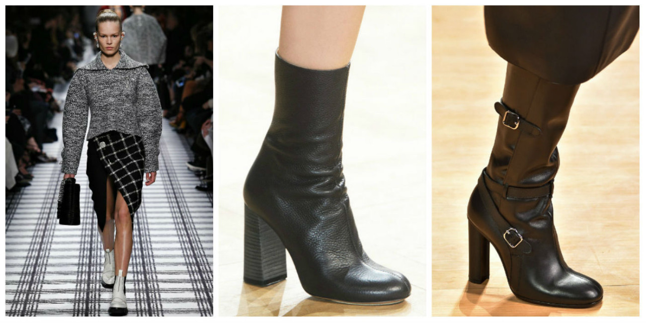 Модный нос в обуви в 2017