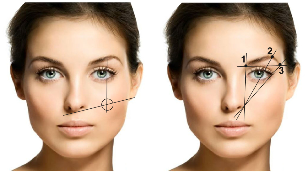 Как правильно наносить макияж если глаза близко посажены