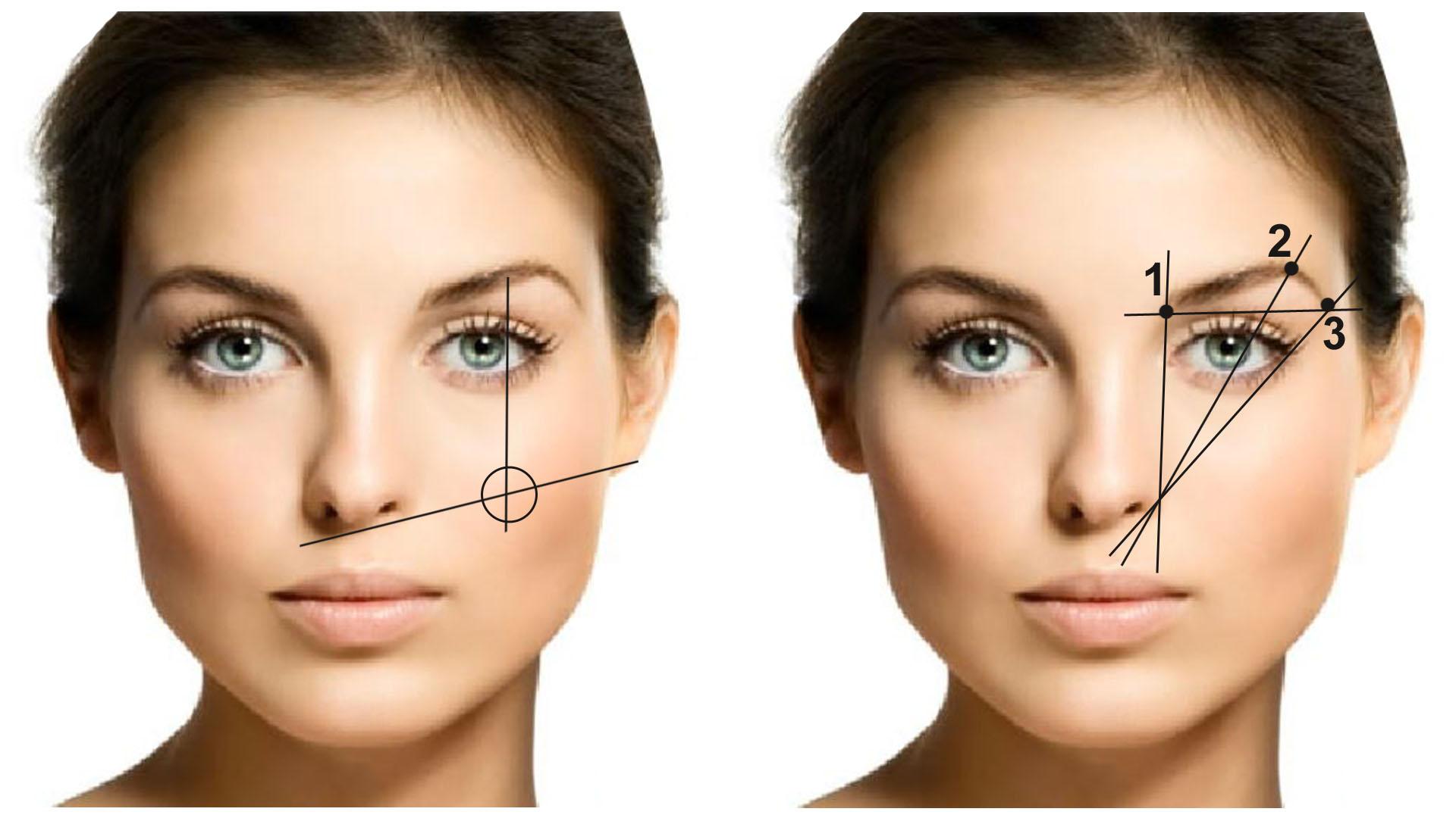 С помощью макияжа увеличить глаза фото