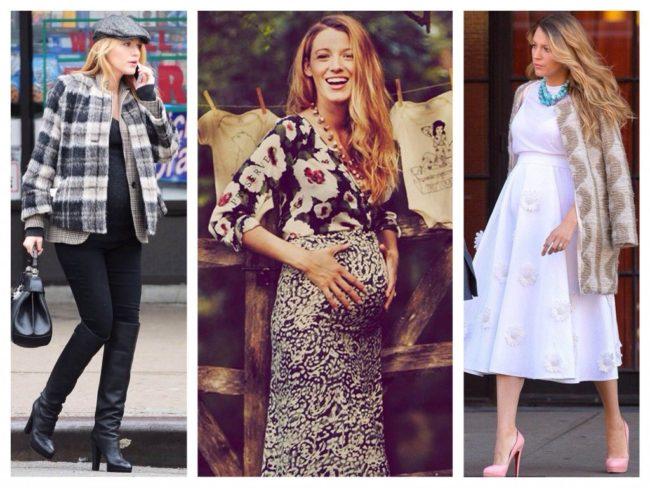 Модные  беременным женщинам