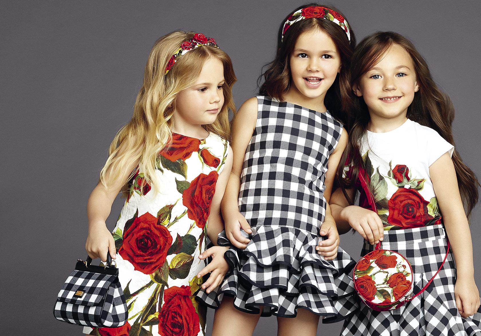 Платья для девочек мод
