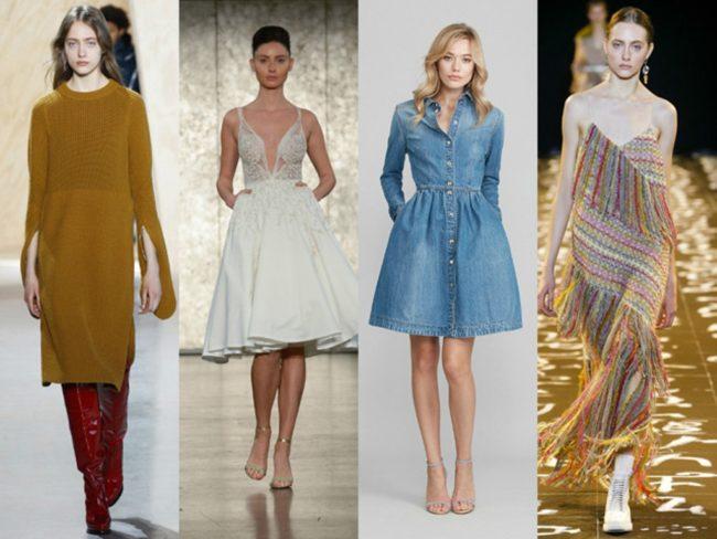 Какой цвет платьев моден в 2017 году