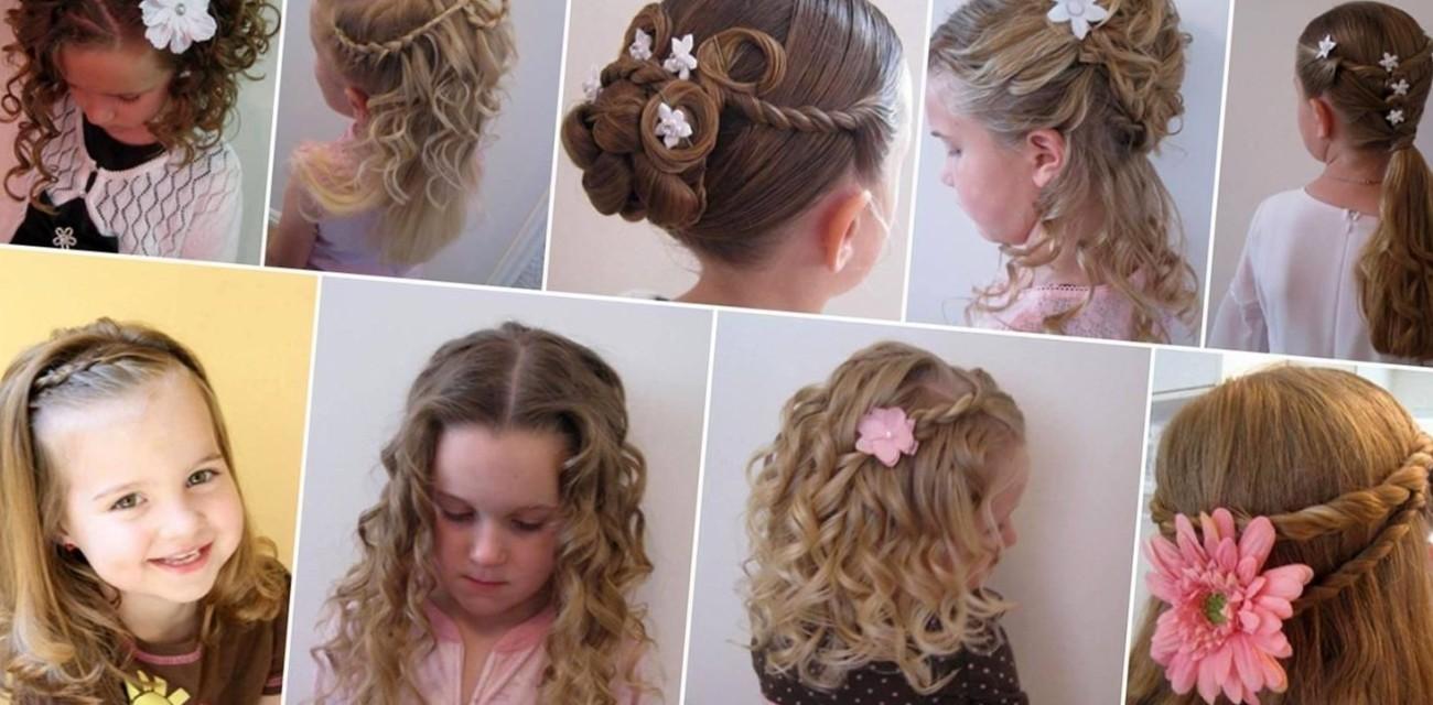 Прическа на выпускной 4 класс средние волосы фото