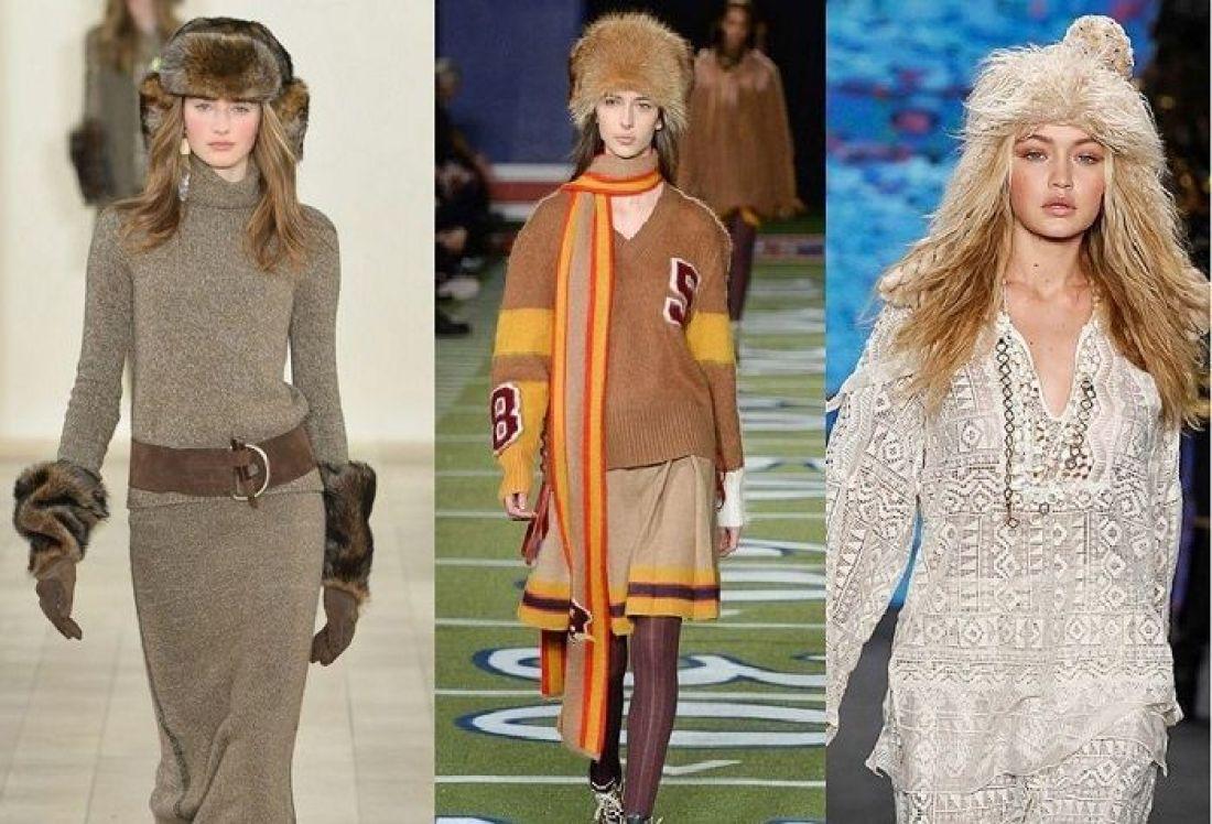 Вязанная Мода Зима 2017