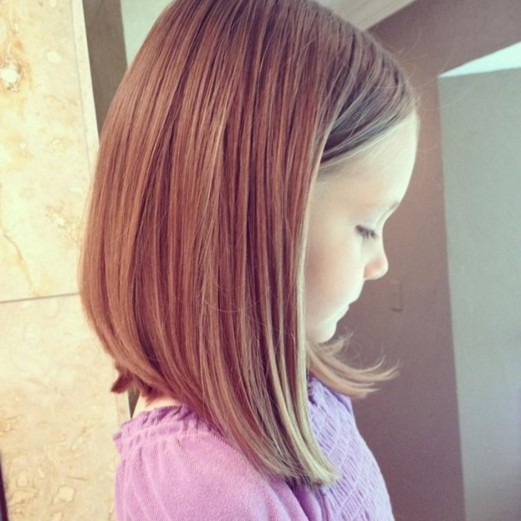 Детские стрижки на длинные волосы для девочек