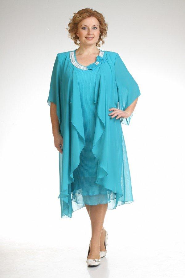 Платье из шифона для полных женщин с выкройками