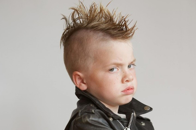 стильные детские прически фото
