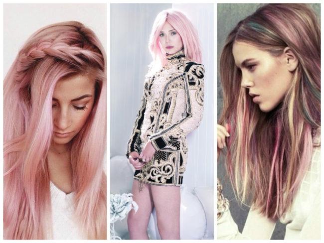 Комбинирование цветов волос
