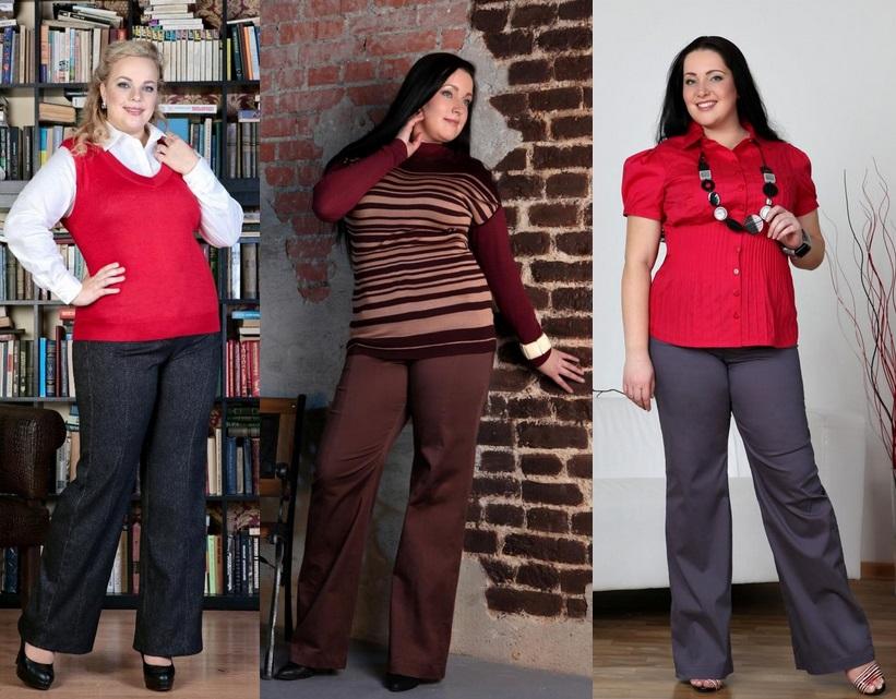 Стиль Одежды Для Полных Женщин 40 Лет