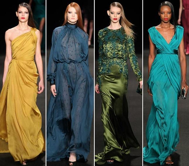 Последние тенденции вечерние платья
