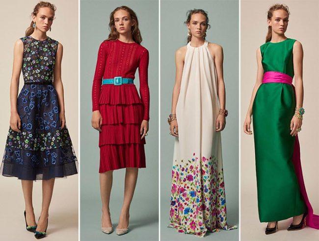 Фото модных платьев весна лето 2017-2018