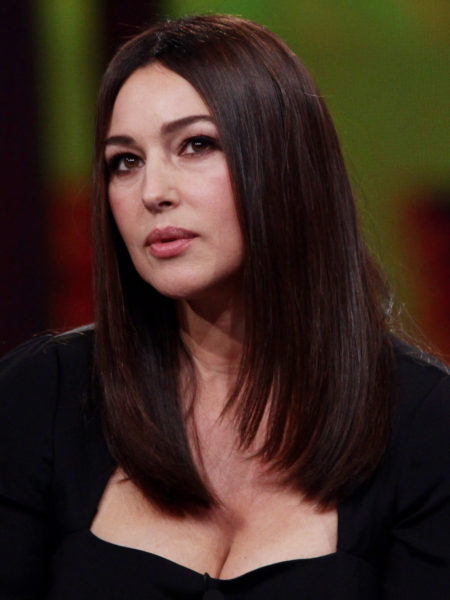 MILAN, ITALY - OCTOBER 26: Monica Bellucci attends the 'Chiambretti Night' TV Show held at Mediaset Studios on October 26, 2010 in Milan, Italy. (Photo by Vittorio Zunino Celotto/Getty Images)