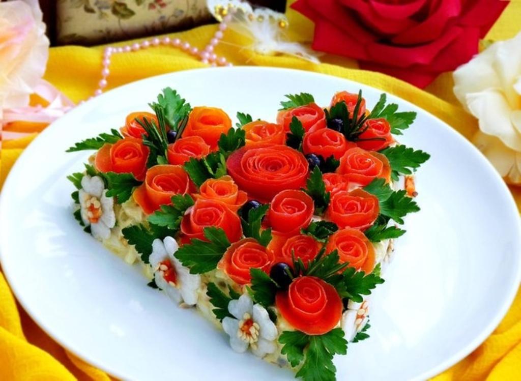 Красивые и вкусные салаты на праздничный стол с