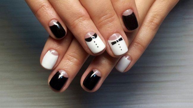 Фото ногтей с рисунками дизайн