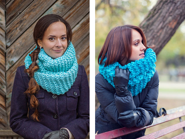 Схема вязания спицами шарфа хомута» — карточка пользователя.