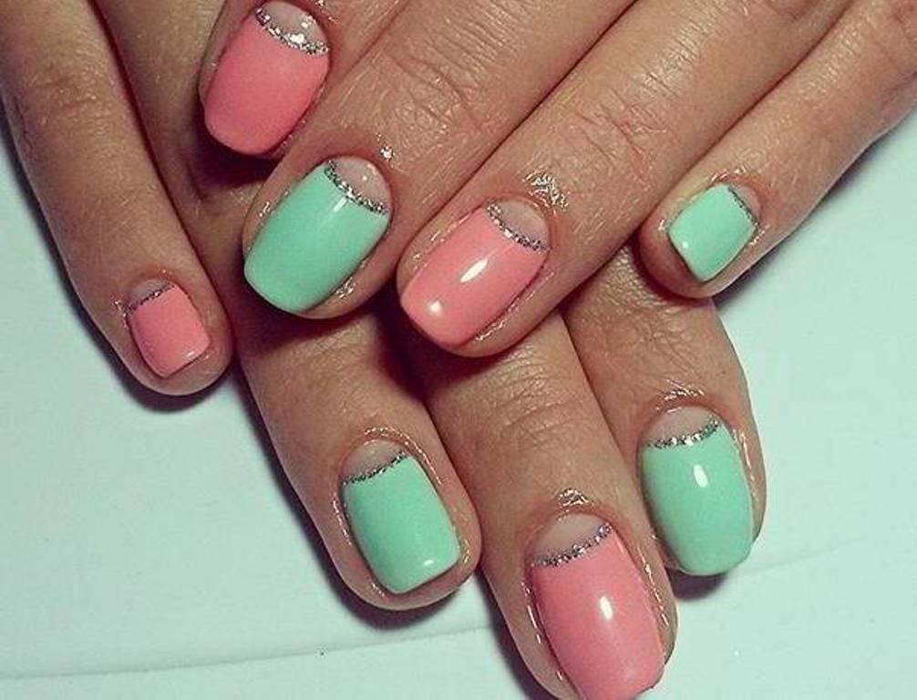 Дизайны ногтей с лунками