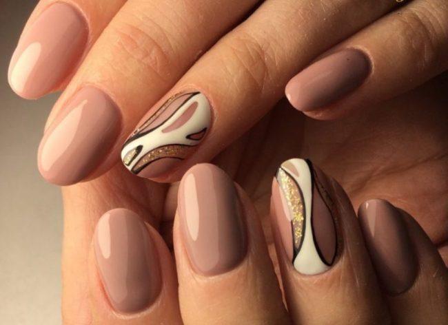 Дизайн ногтей нежных 2017