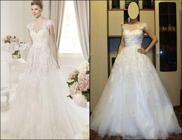 Свадебные платья на заказ по интернет