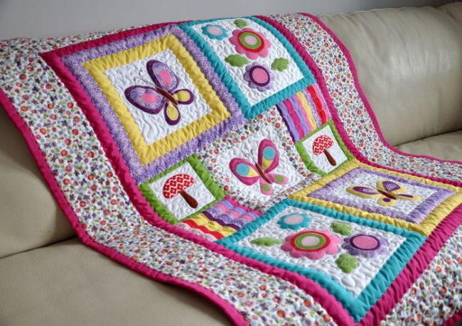 пэчворк фото одеяла детские