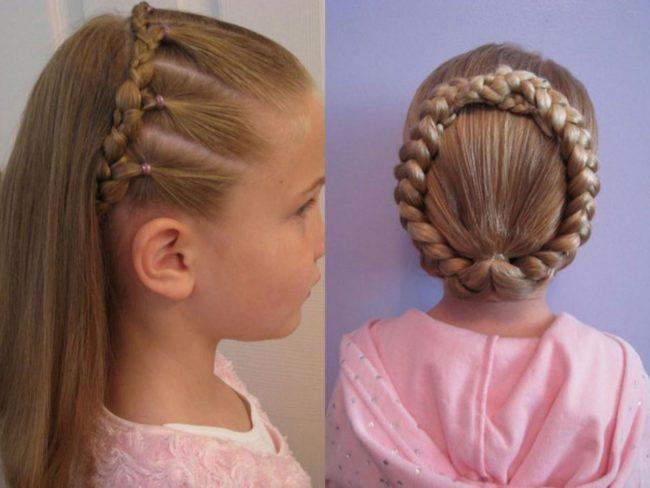 коса ободок на длинные волосы пошаговая инструкция