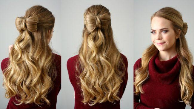 Прически на средние волосы легкие и красивые
