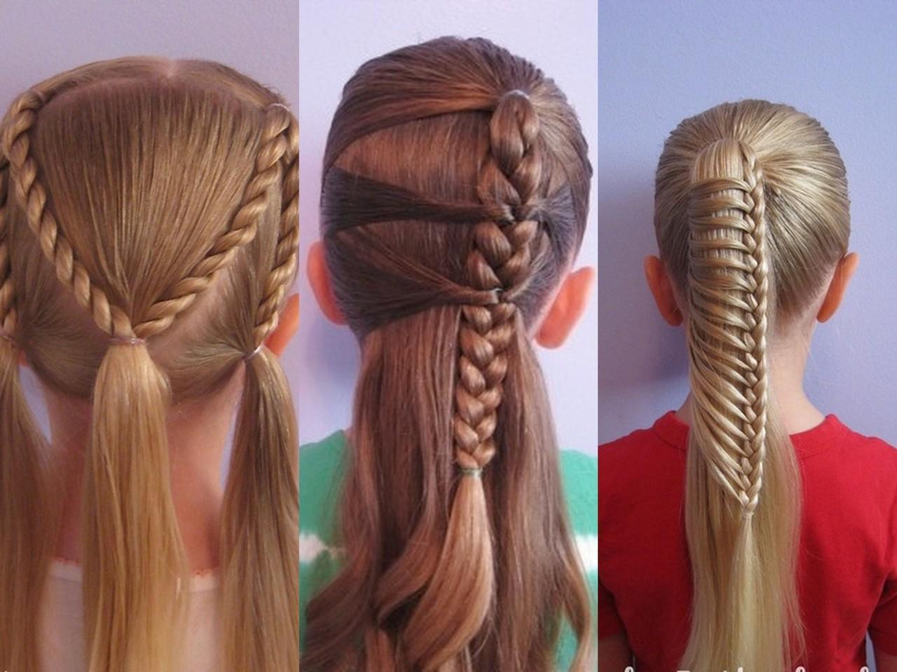 красивые прически на длинные волосы девочке Количество страниц: Жанр: