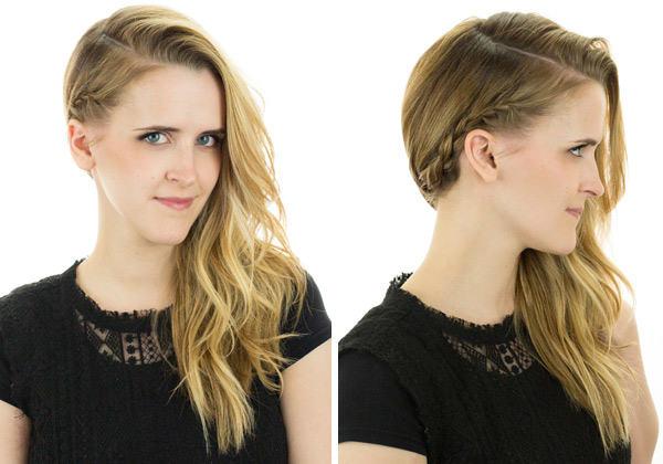 Легкие прически на короткие волосы: от эффекта ободка из кос до
