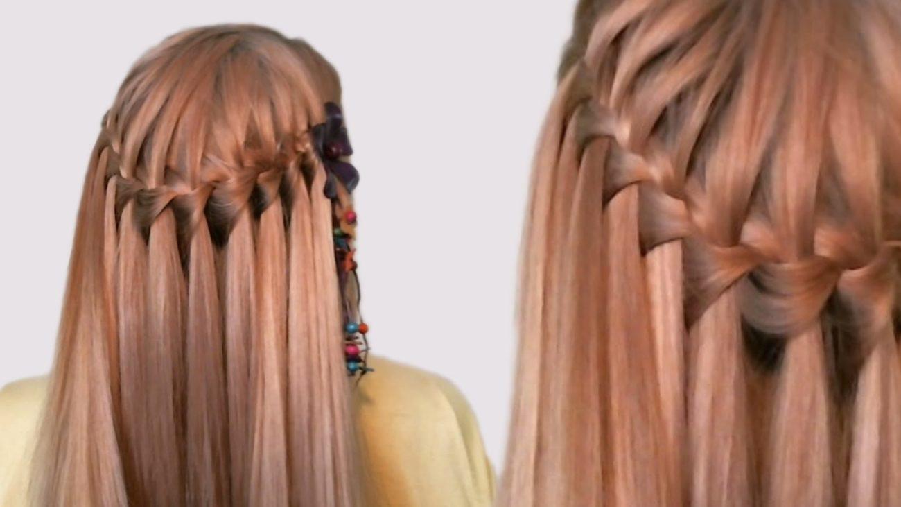 французские прически на длинные волосы