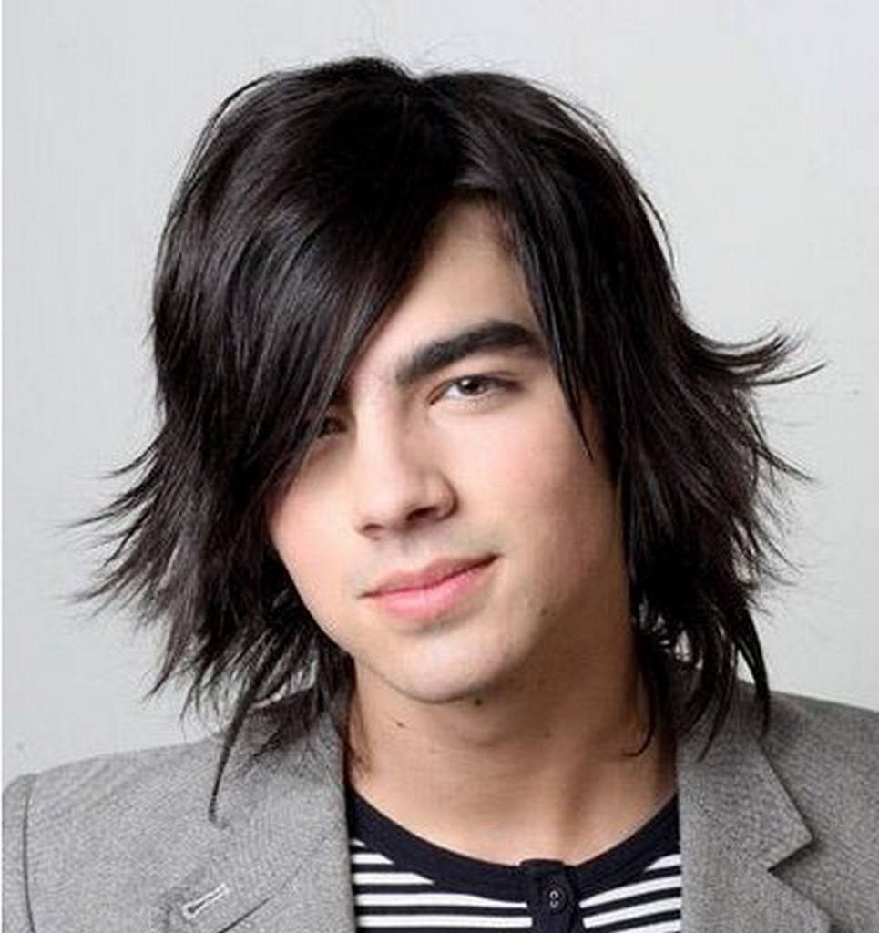Cool hairstyles for boys with long hair