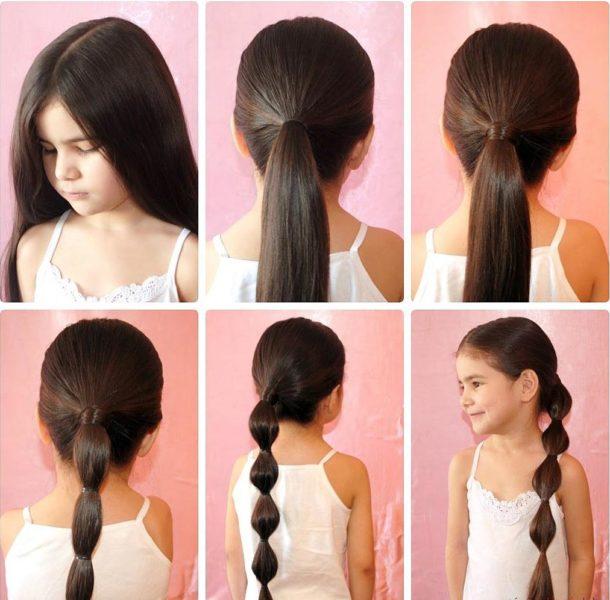 Прически своими руками на длинные волосы в школу