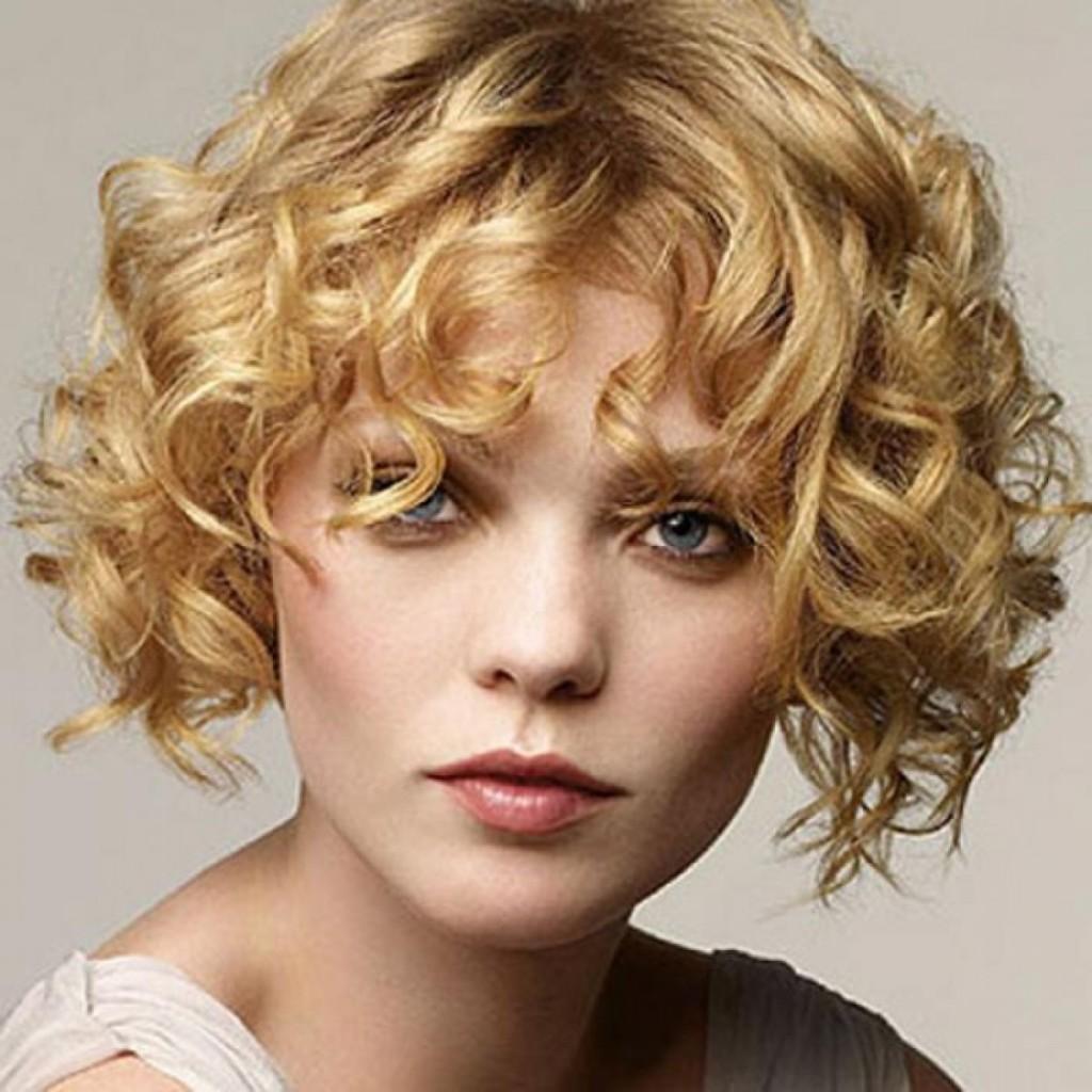 Прически на короткие волосы каре фото кудри
