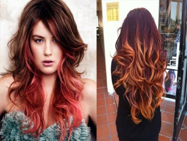 Оранжевые волосы одежда