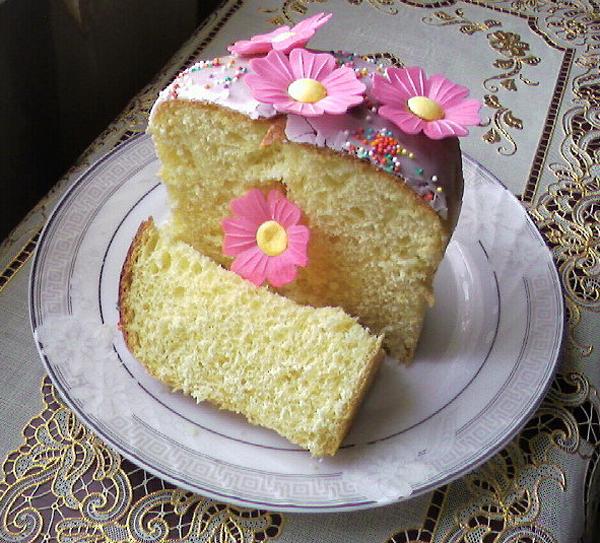 Венское тесто для куличей с пошагово