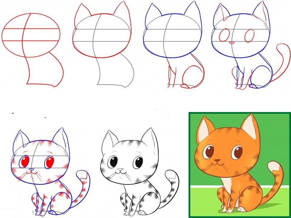 Картинки для срисовки карандашом для девочек 12 лет легкие 9