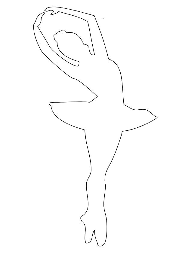 Балерина из бумаги своими руками