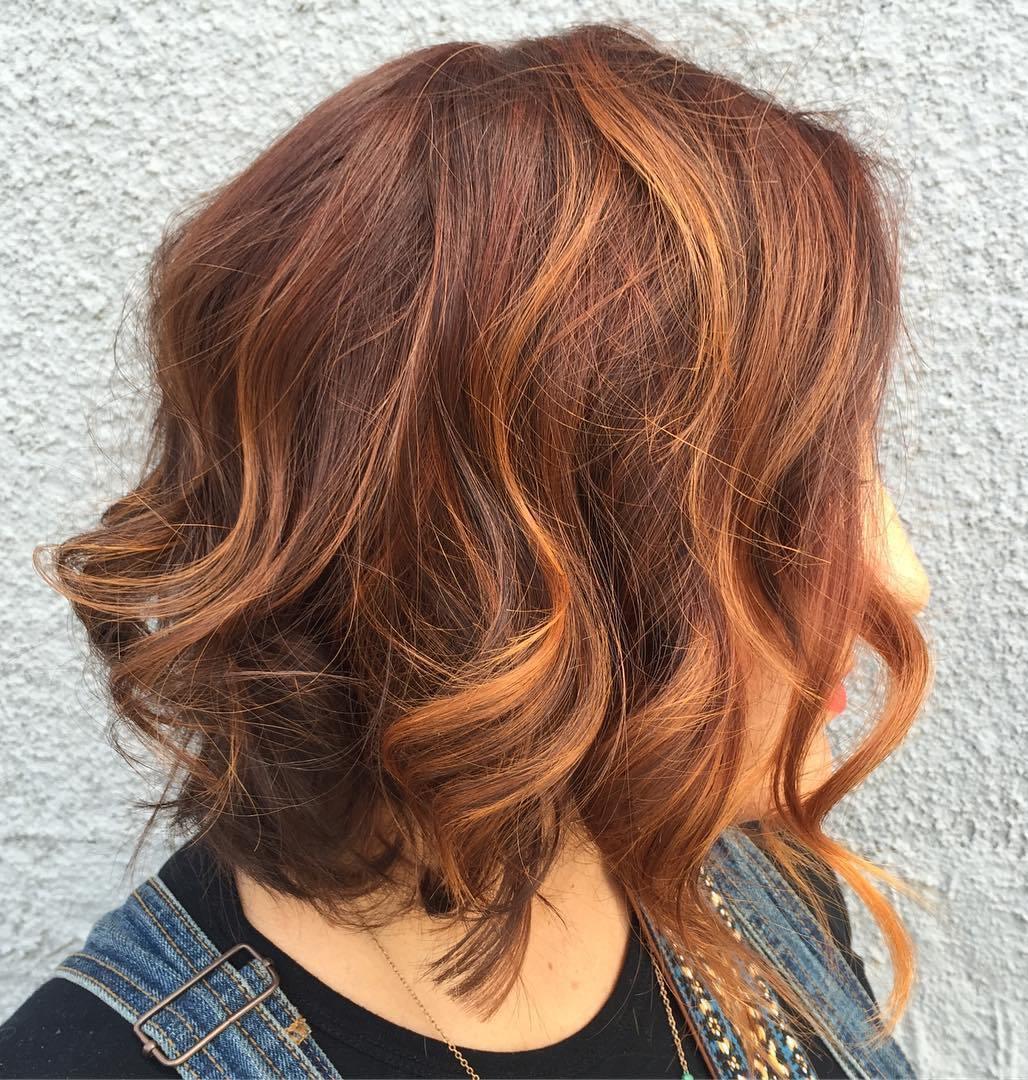 Как сделать волосы с рыжим оттенком в домашних условиях