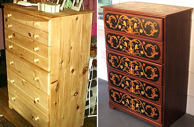 Своими руками дизайн старого шкафа