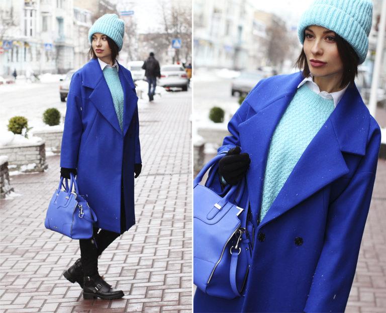 Блузка Alessandr Manzoni Голубого Цвета Se