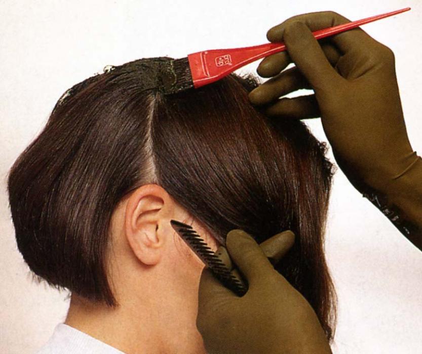Как покрасить короткие волосы в домашних условиях самому себе 824
