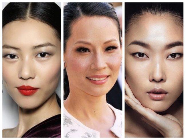 Как сделать азиатские глаза : - территория женских